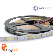 KingLed® Tira LED 12V 300SMD3014 Blanco Frio 30W Strip 6mm Slim IP20
