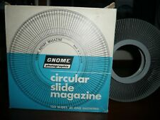 Gnome Photographic circular 122 slide magazine for rotary projectors, boxed