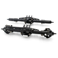KYX PVD Coating Front & Rear Axle set Black for Stock Axial SCX10 II 90046 90047