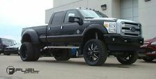 Fuel Maverick 22x8.25 Dually Wheels and Tire Ford Chevy Dodge  Direct Bolt 8 Lug