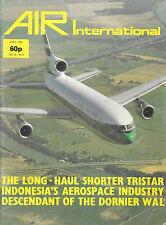 Air International V18 4 Lockheed TriStar Dornier Do 18 Aermacchi MB 339 BAe Hawk