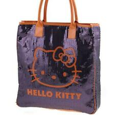 Grand sac shopping Sequins pourpre Hello Kitty Camomilla