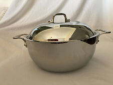 All-Clad Stainless Steel  5.5 Quart Dutch Oven w/Dome Lid