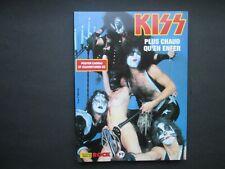 KISS IMAGES DU ROCK  66 PAGES  + POSTER + COUVERTURES CD ETAT NEUF