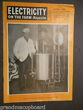 JAN 1951 ELECTRICITY ON THE FARM MAGAZINE Country Life Vintage Ads PP&L Recipes