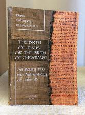 THE BIRTH OF JESUS OR CHRISTIANS? AN INQUIRY INTO JOHN 1:13- Kulandaisamy 2015