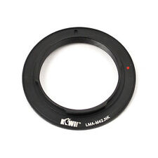 JJC LMA Metal Adapter Ring for M42 Mount & Macro lens use with NIKON Camera Body