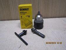 """Dewalt DT7005 SDS adaptor + 1/2"""" 13mm Key chuck fits all SDS drills"""