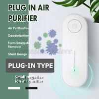Plug in Air Purifier Negative Ion Deodorizer Home Smell Sterilizer Odor