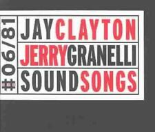 JAY CLAYTON/JERRY GRANELLI - SOUND SONGS NEW CD