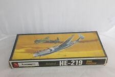 Heinkel HE-219 Owl Fighter Plane Kit 1/72 Sealed Unopened Vintage