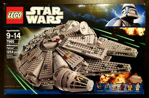 Lego Star Wars Millennium Falcon (7965) New In Box Factory Sealed Retired 2011