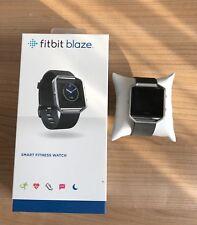 Fitbit Blaze S schwarz Fitness Uhr