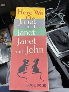 Vintage Janet And John Books Job Lot