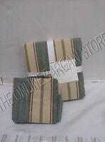 Pottery Barn PB Joshua Stripe Bedroom Duvet Cover & Standard Pillow Sham Blue