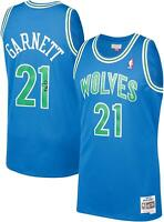 Kevin Garnett Minnesota Timberwolves Signed Blue 1995-1996 Authentic Jersey