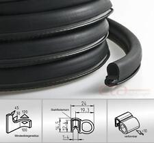 1 m Kofferraumdichtung Kederband Kantenschutz EPDM PVC schwarz KB 1-4 mm 1C11-19
