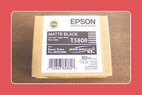 Genuine Epson Pro 3800 3880 Matte Black Ink  T5808 T580800 Exp 11-2012