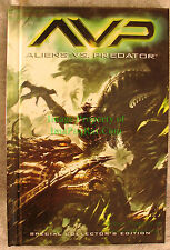 AVP Alien vs. Predator Special Collector's Edition Hardcover UNOPENED Storage