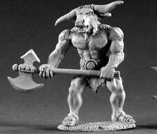 Trezzna Minotaur Reaper Miniatures Dark Heaven Legends D&D Rpg Dungeon Wargames