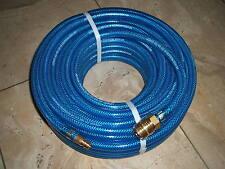 Druckluftschlauch-Garnitur 10mm  L: 20m blau  Kompressorschlauch