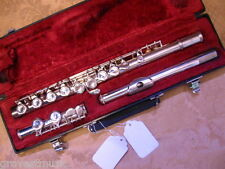 JZ Student Flute-Silver Plated-Overhauled-Great Condition-Great Price!
