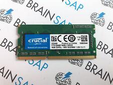 4GB DDR3 RAM Crucial CT51264BF160BJ SO-DIMM - PC3L-12800S 1600 MHz