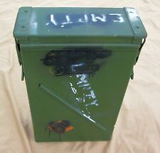 81mm He M889A1 Mortar Ammo Can | 120mm| Surplus Bury Box | Geocaching