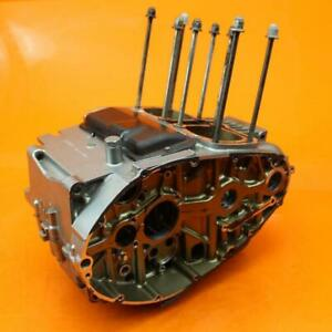 04-09 SUZUKI GS500F OEM ENGINE MOTOR CRANKCASE CRANK CASES BLOCK