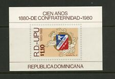 G648  Dominican Republic  1980  U.P.U.  sheet      MNH