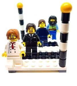 Beatles Abbey Road Minifigures - Genuine LEGO Pieces