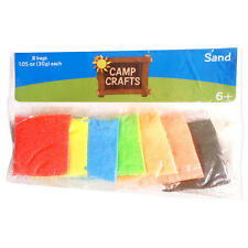 2 pack of 8 Colors Art Sand Small Pack 30g each Great for Kids Sand Art Craft