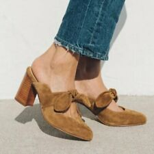 New Soludos Women's Lani Bow Mules *Chestnut Size: 7 - 9.5