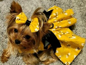 Dog Dress/Harness  Bumble Bee NEW   FREE SHIPPING