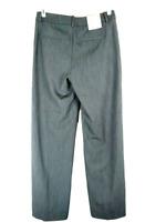 A New Day Women's Pants Size 4 Reg Heather Gray Wide Leg Work Career Dress NWT