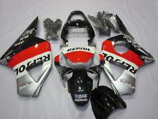 Gray&Red&Black ABS Injection Fairing Bodywork Kit For Honda CBR954RR 2002 2003