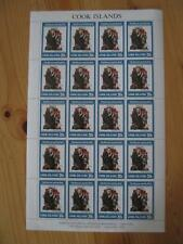 VEGAS - 1982 Cook Islands RARE Full Sheet - Sc# 685 Rockwell - MNH, OG - (CS70)