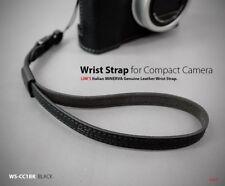 Lim's Genuine Leather Camera Wrist Strap for Leica SONY Nikon Fujifilm Black