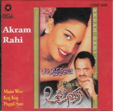 AKRAM RAHI - MAIN WEE KUJ KUJ PAGAL SAN - NEW SOUND TRACK CD - FREE UK POST