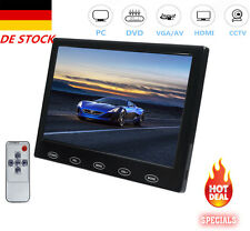 "7""inch TFT LED TouchButton Display HDMI AV VGA Monitor F PC POS Car DVD DE STOCK"