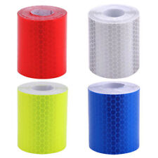 Car Truck Reflective Self-adhesive Safety Warning Tape Roll Film Sticker 4 Color