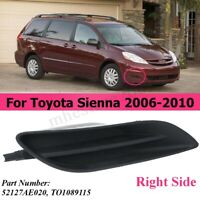 Front Right Fog Light Cover For Toyota Sienna 2006-2010 52127AE020 TO1089115