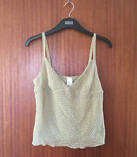 DKNY Ladies Light Green Camisole with Adjustable Straps, size Large