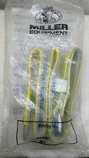 Vintage Miller Equipment Body Belt Model 6414n Yellow Size Med Sealed