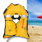 Automatic Inflatable Life Jacket Pfd Adult Fishing Vest Swimming Survival Tool