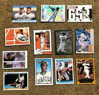 Barry Bonds (12) Card lot - Includes Rare 2002 Topps #365 HR#73 + 11 others!!!!
