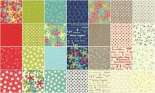 "Hometown Girl by Moda 42 5"" Charm Pack 100% Cotton by Pat Sloan 43060PP"