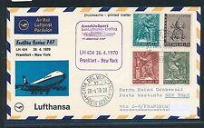 96067) LH FF Frankfurt-New York 26.4.70, sou a partir del Vaticano