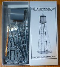 """Tichy Train Group #7019 Industrial Water Tank -- Kit - Base 2-3/4"""" 6.9cm Square,"""