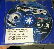 Monsters Inc - Bowling For Screams (disc only)  -  PC GAME - FREE POST *